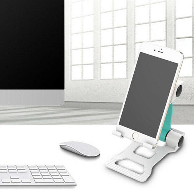 Smart Phone Foldable Plastic Table Holder Desk Plastic Stand Universal Portable Support For Mobile Phone Tablet Broadcast