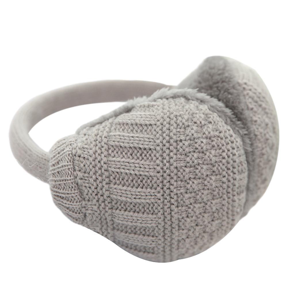 New Plush Solid Color Ladies Earmuffs Autumn And Winter Warm And Comfortable Unisex Removable And Washable Ears Winter Ear Cover
