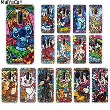 MaiYaCa fairy tale stained Alice Mickey Mouse Phone Cover for Samsung S10 S9 plus S6 edge plus S7 S7edge S8 S8plus S9 S10 plus(China)
