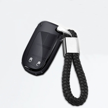 New Soft TPU Car Key Case Cover with Keychain For Jeep Cherokee Renegade Grand Commander Compass Protection