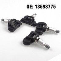 Monitor de presión de neumáticos de coche TPMS 13598775  4 Uds.  Sensor para Opel  adastra  J Cascada  Insignia  Zafira Tourer
