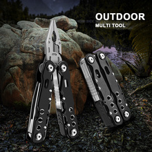 Multi Tool Plier Wire Stripper Cable Cutter Cutting Pliers Multifunctional Tool Multitool Knife Camping Survival Tactical Knife