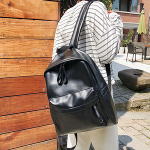 Image 3 - ファッションプレッピースタイルの女性のバックパックの革ランドセルteengersためgilrs大容量puトラベルバックパック嚢aドス