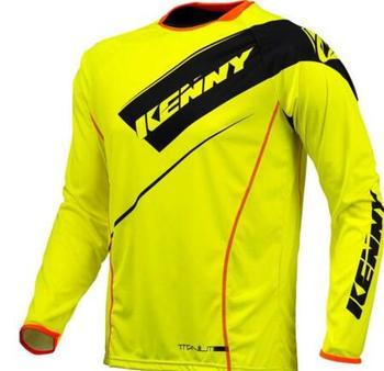 2020Nuevo nueva ropa deportiva Jersey de bajada MTB nduro fuera de carretera larga bicicleta de montaña camiseta de Motocro