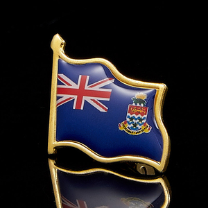 Image 4 - Großbritannien Cayman Inseln Mode Brosche Pin Metall Brosche Schmuck Kleidung Zubehör
