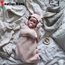 Newborn Sleeping Bag Winter Autumn Warm Toddler Infant Stroller With Parcel Blanket For Wrap Cotton Baby Receiving Blanket