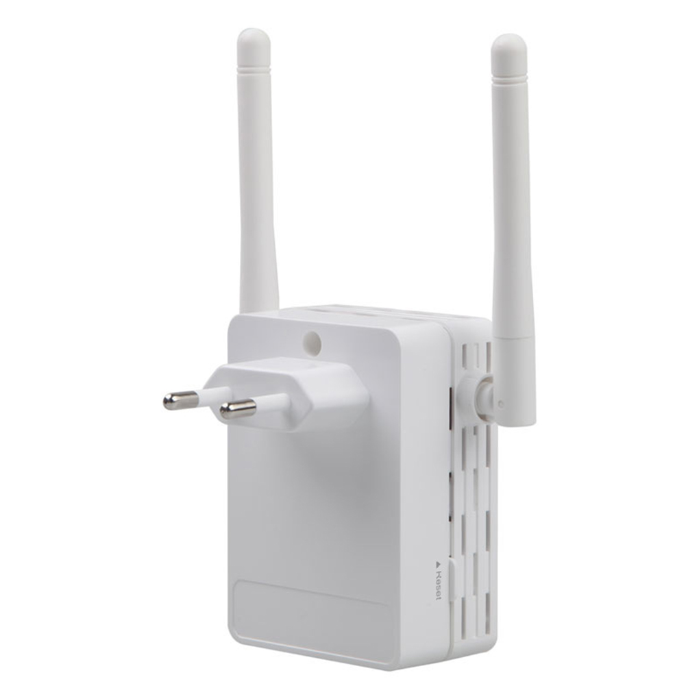 Elenxs 300Mbps AP Wireless Wifi Repeater Home Network Booster 2.4G Wireless Enhancer Wifi Signal Range Extender