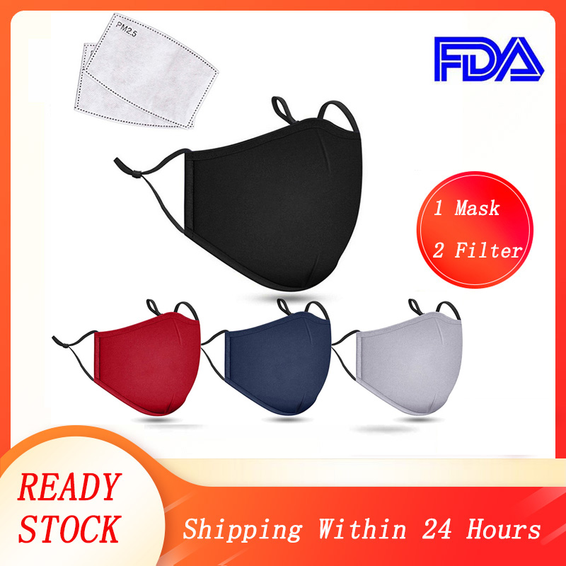 New FFP3 Mask And Filter Towel Unisex Cotton PM2.5 Mouth Mask Anti-Dust For Men Women Mask Filter Respirator FFP2
