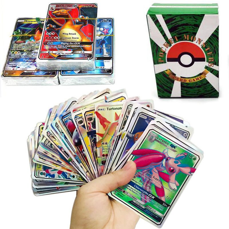 New Pokemon Card GX EX MEGA Shining Cards Game Battle Carte Trading Cards Game Children Toy