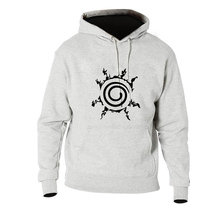 2019 New Japan Anime  Naruto Uzumaki Print Cartoon Hoodie Sweatshirt for Mens Winter Autumn High Quality Brand Hoodies