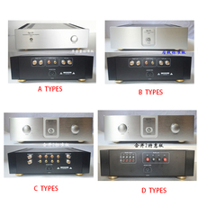 KYYSLB 430*115*409MM QL43115 Amplifier Chassis House Enclosure DIY Box External Cooling Enclosure Class A Rear Amplifier Case