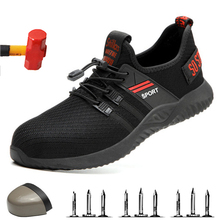 High Quality Safety Shoes with Steel Toe Safety Men Work Shoes