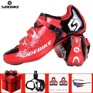 Sidebike Мужская обувь для езды на велосипеде, для езды на велосипеде
