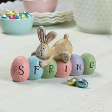 Home-Decoration-Supplies Easter-Tree Craft Hanging Acrylic Party Bunny Cut-Egg Rabbits