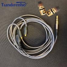 Bricolage MMCX Interface DD dynamique HIFI In ear écouteurs détachable Mmcx câble pour Shure écouteur SE215 SE535 SE846 UE900 casque