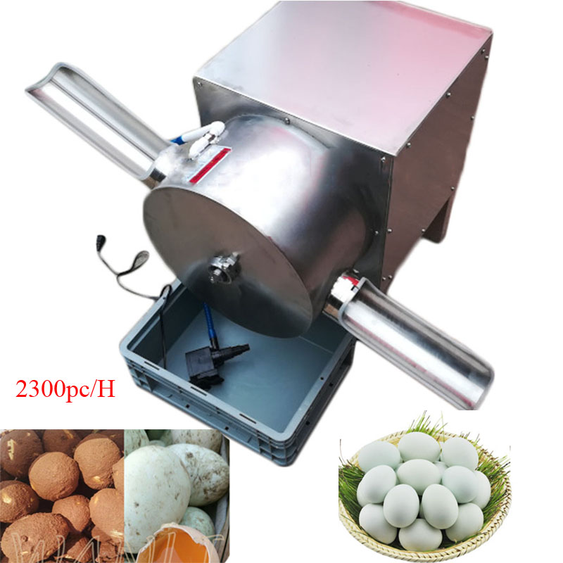 Single Row Electric Egg Washing Machine Chicken Duck Goose Egg Washer Egg Cleaner Wash Machine 2300pc/H Poultry Farm Equipment