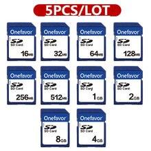 Promoção!!! 5 pçs/lote 2GB 1 Cartão SD GB 512MB 256MB 128MB MB MB MB 16 32 64 8GB 4GB SDHC Secure Digital Cartão de Memória Flash Cartão de Memória