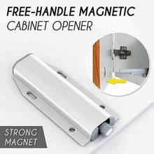 Furniture Cabinet Door Rebound Drawer Latch Door Closer Furniture Hardware Cabinet Catches Door Stopper for Wardrobe/Kitchen Cup