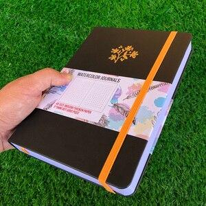 Image 4 - BUKE Dot Gridจุดสมุดบันทึกสีน้ำSketchbook Thickenกระดาษ180GSM 160GSM Dotted160หน้า5X5mm