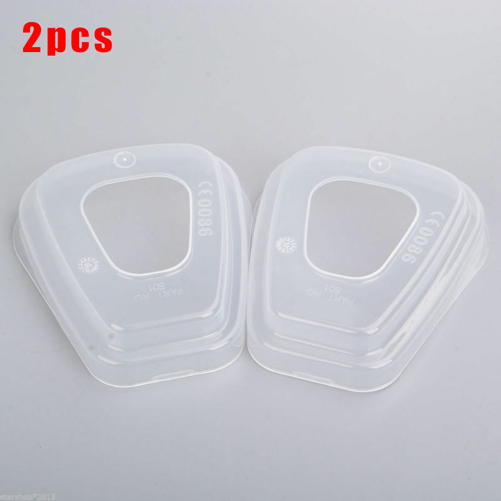 2PCS 501 Filter Retainer Cover Fit 6100/6200/6800/7501 Breathing Face Cover Filters Supplies