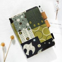 The Green Forest Creative Hand Made Fitted Fashion Journal Cover A5 A6