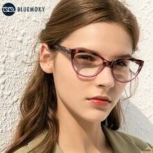 BLUEMOKY-gafas de lectura con ojos de gato para mujer, anteojos florales para presbicia, gafas ópticas para hipermetropía, gafas dioptrías + 1.0to + 4,0
