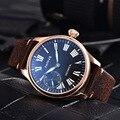 Мужские наручные часы Parnis 44 мм с золотым корпусом  роскошные брендовые механические часы с ручным заводом  17 драгоценностей  мужские наручн...