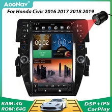 PX6 Vertical pantalla 1920*1080 2 Din Radio del coche para Honda Civic 2016, 2017, 2018-2020 estéreo de coche navegación GPS reproductor Multimedia