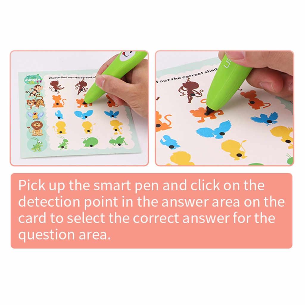 เด็กการเรียนรู้เครื่อง Common Sense ความรู้ความเข้าใจ Logic การเรียนรู้ปากกาเด็กปฐมวัยการศึกษาของเล่นการเรียนรู้ปากกา