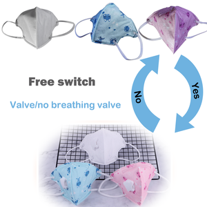 Image 2 - Spot Face Mask Mouth Masks With Valve For Kids Children Anti Dust Pollution Filter PM2.5 Protective Hygiene Respirator tapabocas