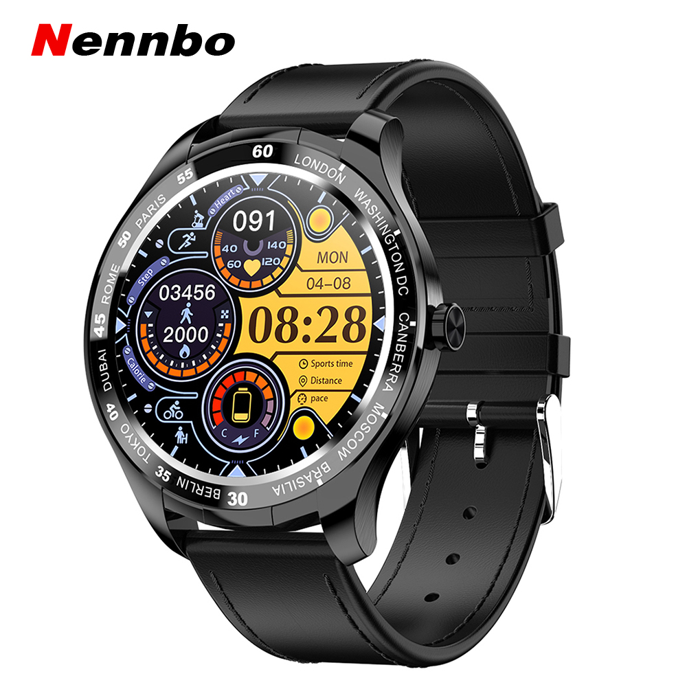 Nennbo New T50 Smart Watch Men Full Touch Screen Sports Waterproof Smartwatch Women Fitness Tracker Clock For Android iOS Phone