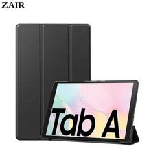 Funda samsung sm-t580 sm-t585 caso tablet bolsa de couro do plutônio tri-fold ebook caso para galaxy tab a 2016 t580 10.1 sleeve tablet tablet manga