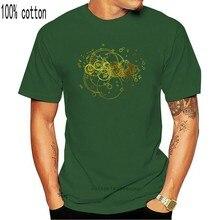 Maglietta nera classica Time Lord, il miglior regalo per uomo donna. Maglietta Casual