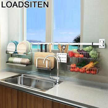 Speisekammer Organizador Waschbecken Organisation Escurridor De Platos Edelstahl Rack Mutfak Cocina Küche Küche Veranstalter
