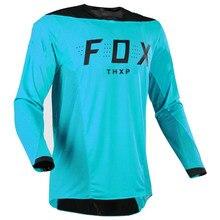 Camiseta de manga larga para ciclismo de montana y Motocross, para hombre, todoterreno, Mtb, DH, novedad de 2021 jersey