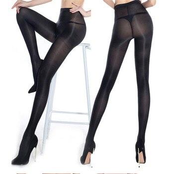 Sexy lingerie porno Bar Stage Cut High Gloss Shiny Glossy Pantyhose Tights Hosiery Hose чулки для секса/колготки женские/носки