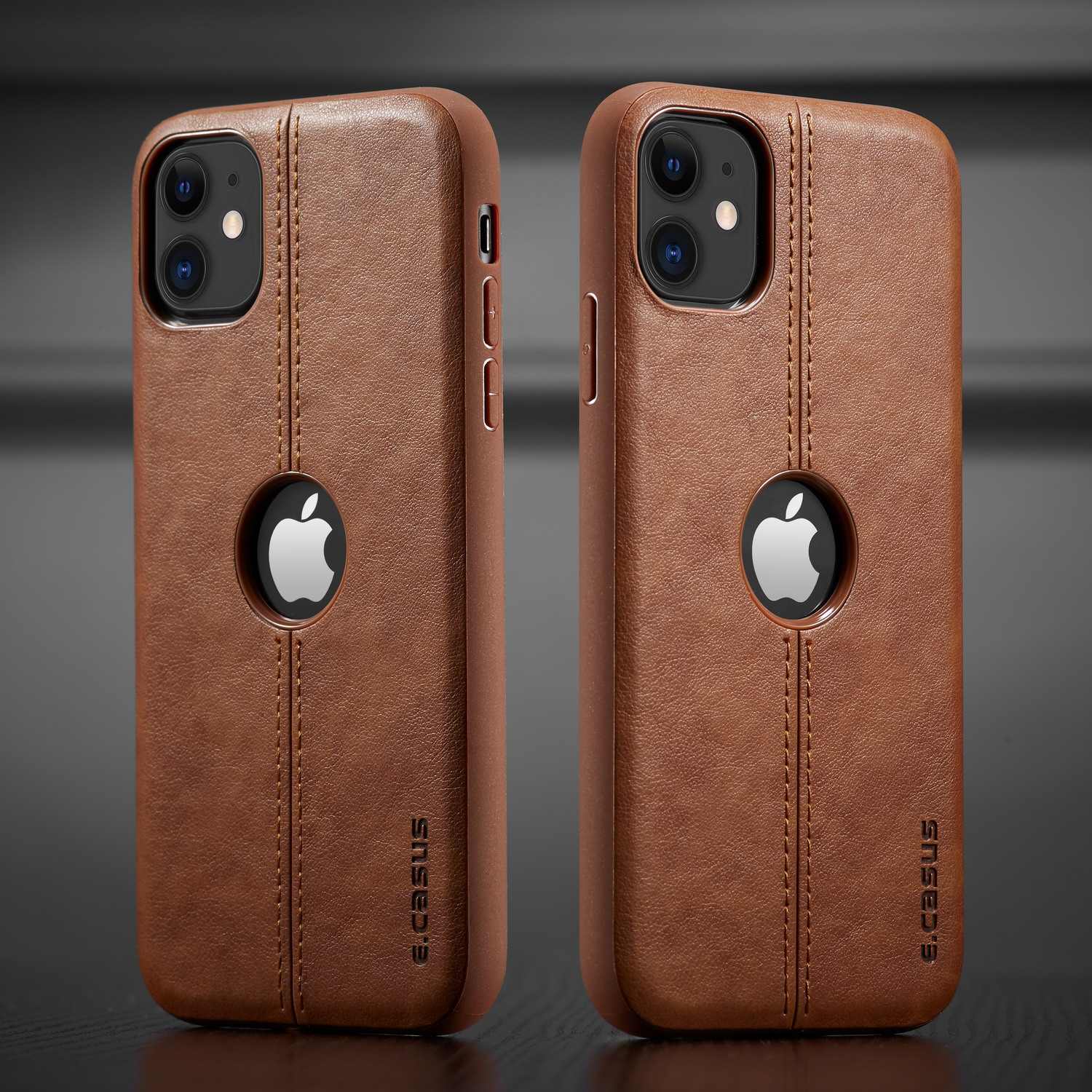 Hab067b81f78b4be4ad71e94b91186036w For iPhone 11 11 Pro 11 Pro Max Case New SLIM Luxury Leather Back Case Cover For iPhone 11 XR XS MAX 8 7 6 Plus Shockproof Case