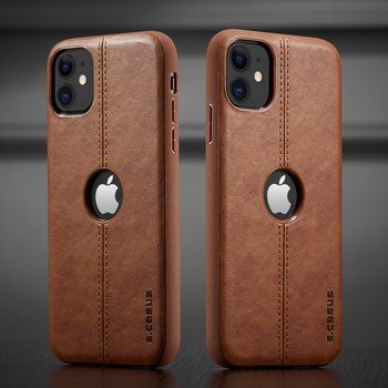 Leather Back Case iPhone 11 Pro Max