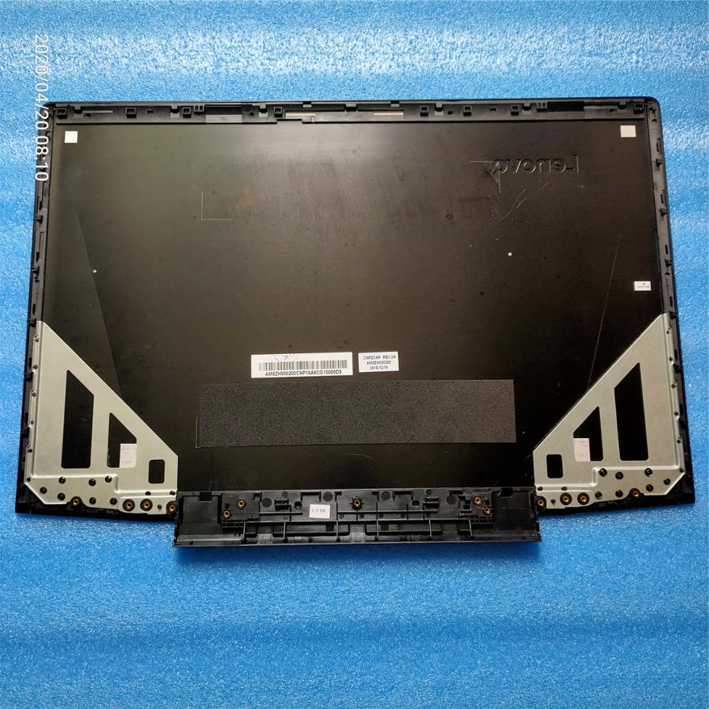 New Original For <font><b>Lenovo</b></font> Ideapad <font><b>Y700</b></font>-17 <font><b>Y700</b></font>-17ISK Top <font><b>Case</b></font> Lcd Cover Back Cover Rear Lid Housing Cabinet Black AM0ZH000200 image