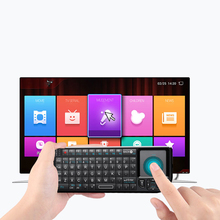 Ergonomische 2,4G Touchpad Tastatur Wireless Keyboard Air Fly Maus Original Handheld Mini Für Samsung LG Android Tv PC Laptop