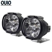 8 Вт мотоциклетные светодиодный головной светильник для е байка