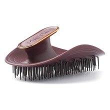 Smoothing Brush Healthy Hair Brush Manta Flexible Maroon