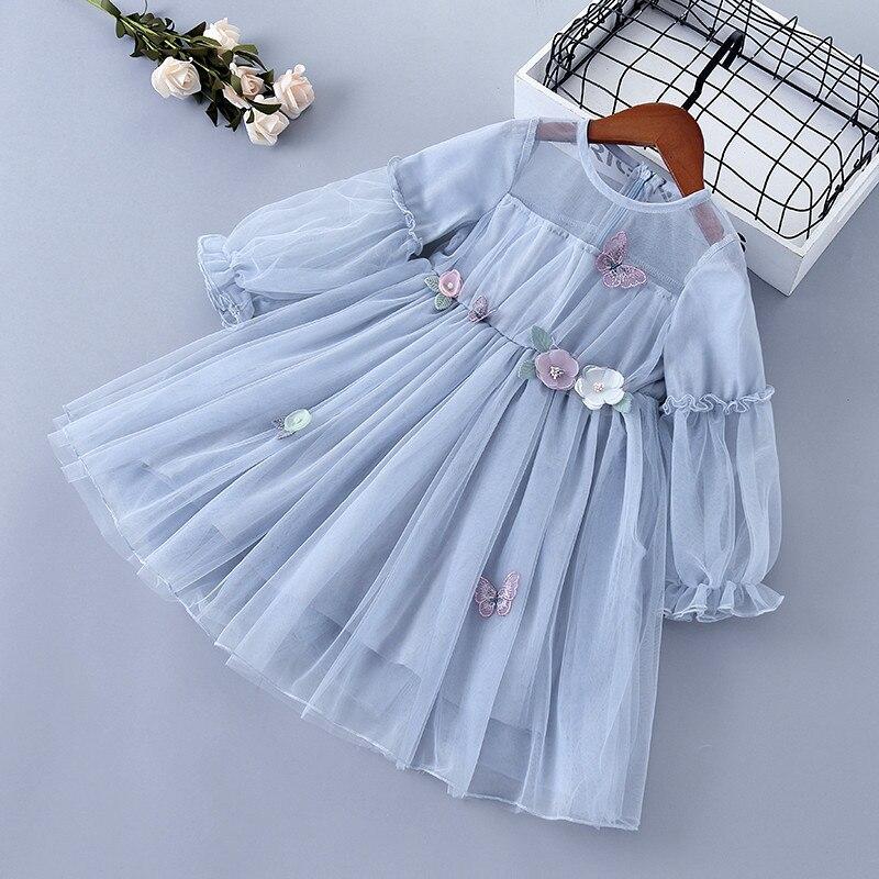 Купить от 3 до 7 лет высокое качество весеннее платье для девочек 2020