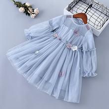 От 3 до 7 лет высокое качество весеннее платье для девочек 2020