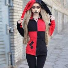 Women Hoodie Sweatshirts Halloween Jacke