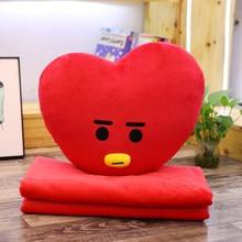 BTS BT21 Hugging Pillow + Blanket Set (7 Models)