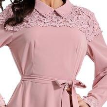 Женское атласное платье с длинным рукавом эластичное большого