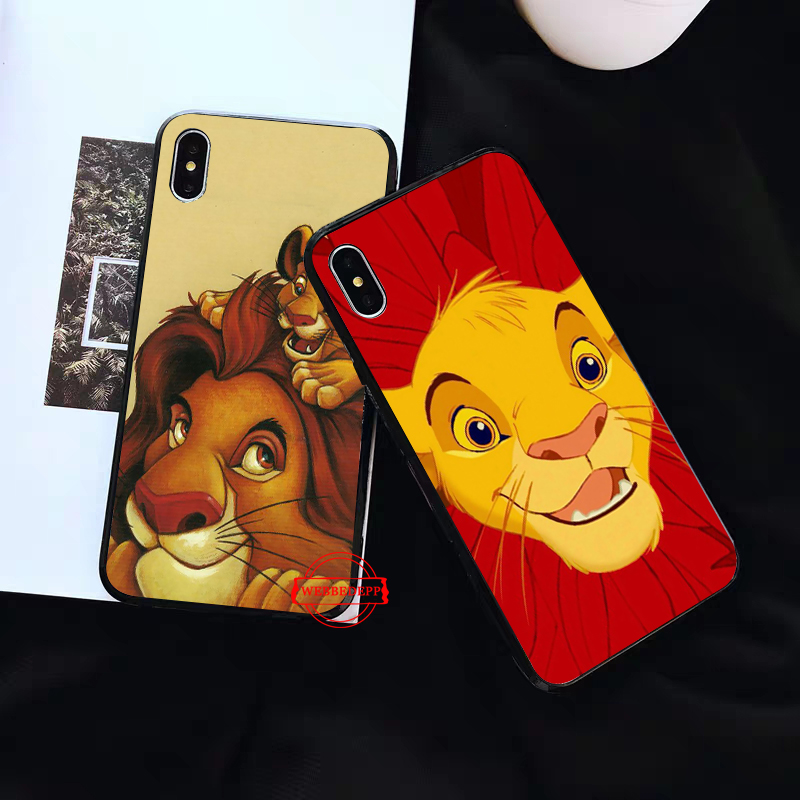 WEBBEDEPP Lion King Pumba Hakuna Silicone Case for Huawei P8 Lite 2015 2017 P9 2016 Mimi P10 P20 Pro P Smart 2019 P30 in Fitted Cases from Cellphones Telecommunications