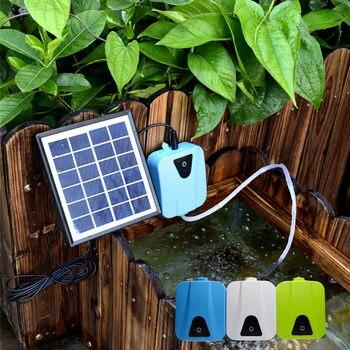 Oxigenador de energía Solar, bomba de aire para acuario, bomba de oxígeno Boma, oxigenador para estanque de piscina, salida de energía de emergencia, transporte acuático