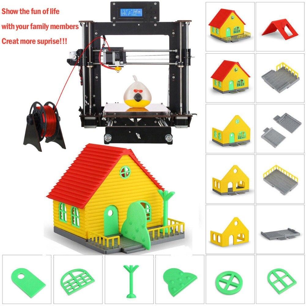 3D Printer Reprap Prusa i3 DIY MK8 LCD Power Failure Resume Printing Printer 3d Drucker Impressora Imprimante UK USA Stock 5